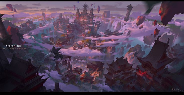 ArtStation - Time And Color, G liulian