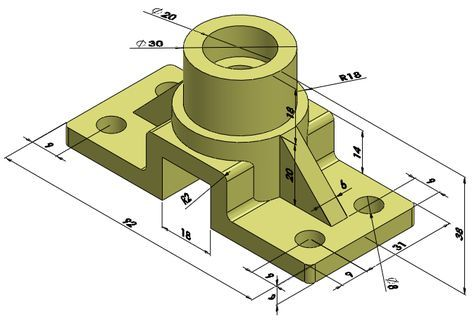 01-rod support - solidworks edrawings