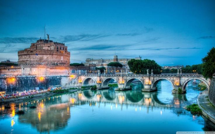 Rome - Tiberis