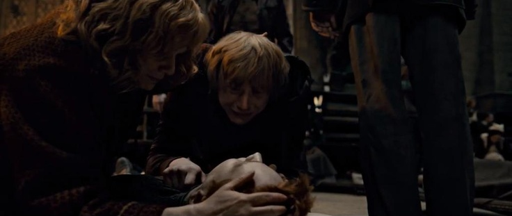 Day 21: I'd bring back Fred Weasley.  I was really sad when Dobby, Dumbledore, Lupin, and Tonks died.  But Fred was half of a whole.  It just felt soooooo wrong!  Something is definately wrong with the world if the famous prankster twins were not in it causing trouble.  And I can only imagine what Geaorge was going through.  My second choice would have been Lupin, because he'd just had his son, Teddy.