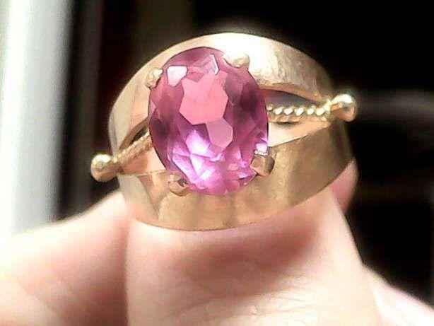 Золотое кольцо с рубином. Борисполь - изображение 1