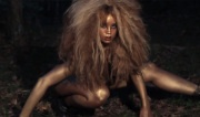 "Dubbed a cross between Erykah Badu and Rihanna, Vanessa Williams' daughter, Jillian Hervey aka Lion Babe released her first single ""Treat Me Like Fire"" in late 2012 and is on pace to making a name for herself in the music industry. The R singer uses lioness images to showcase her strength and elasticity as a woman."