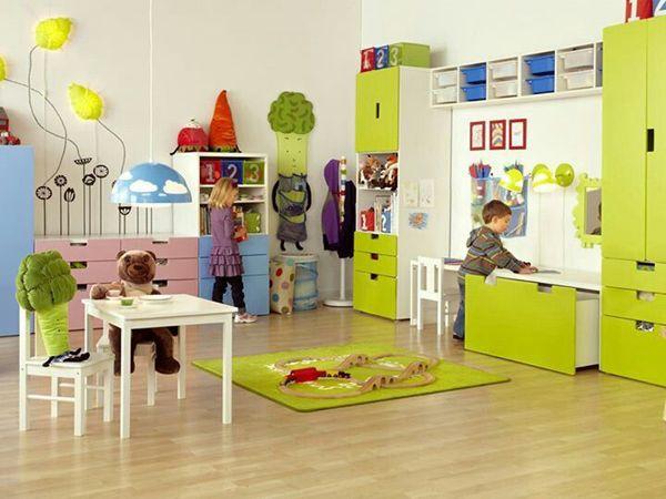 yellow kids playroom ideas 35 Adorable Kids Playroom Ideas