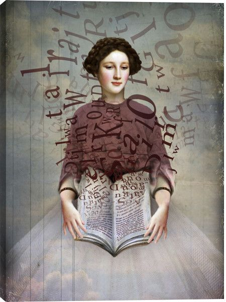 The Storybook Figurative Canvas Wall Art Print by Catrin Welz-Stein