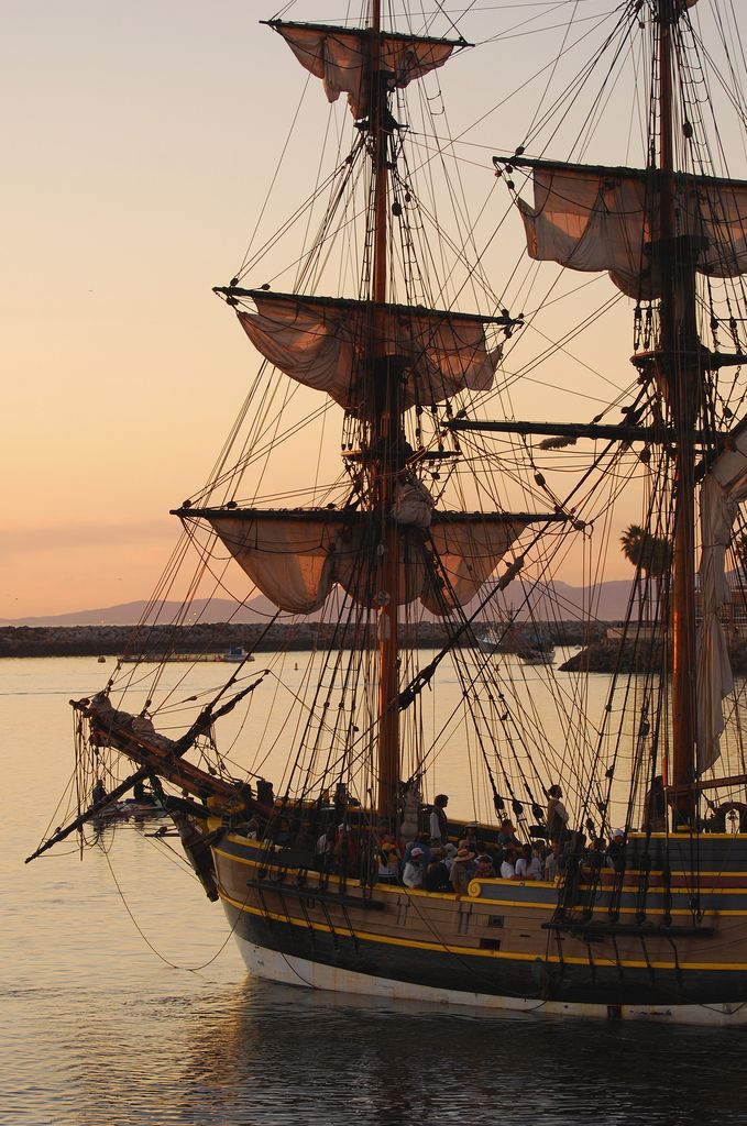 Aha! Here's a picture of one of my ships, (An actual ship, not a character ship mind you)