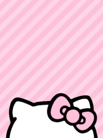 hello kitty pink lines fond d 39 cran girly pinterest pink hello kitty and kitty. Black Bedroom Furniture Sets. Home Design Ideas