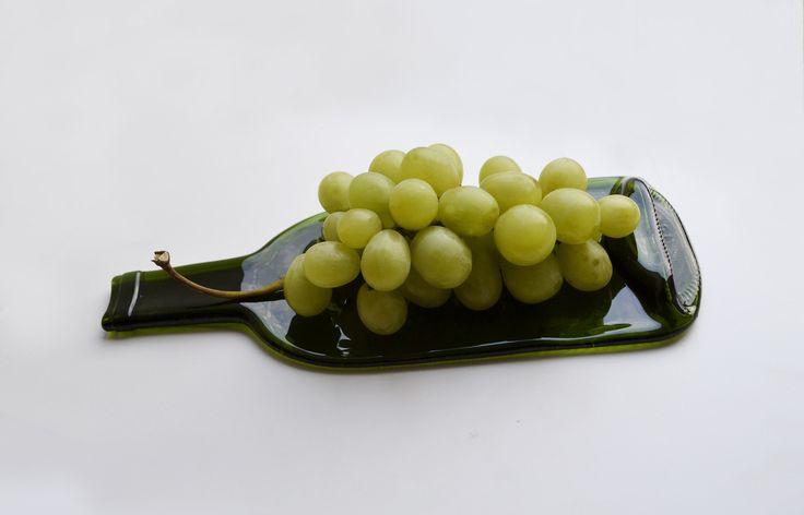 Plat bouteille de vin : Cuisine et service de table par mirage-boutique