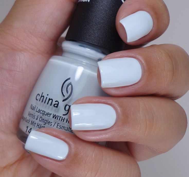 China Glaze: ☆ New Birth ☆ ... a pale blue creme nail polish from The Giver Collection 2014