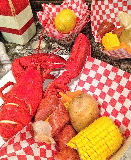 jaala | Gallery lobster shack 40th birthday party