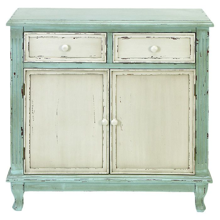 Large heather cabinet in white and mint fun re do idea for Mint green furniture paint