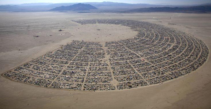 As 37 fotos mais incríveis já feitas no festival Burning Man - Buzzfeed