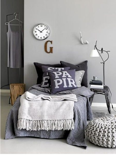 Comfy Gray Reading Nook All You Need Is A Good Book