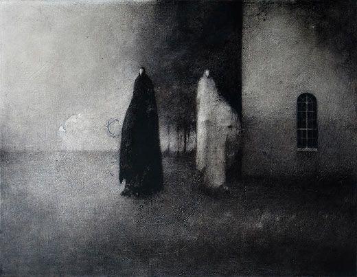 """Timo Sälekivi, """"Syksy / Fall"""" Acrylic on canvas, 2011  70 x 90 cm"""