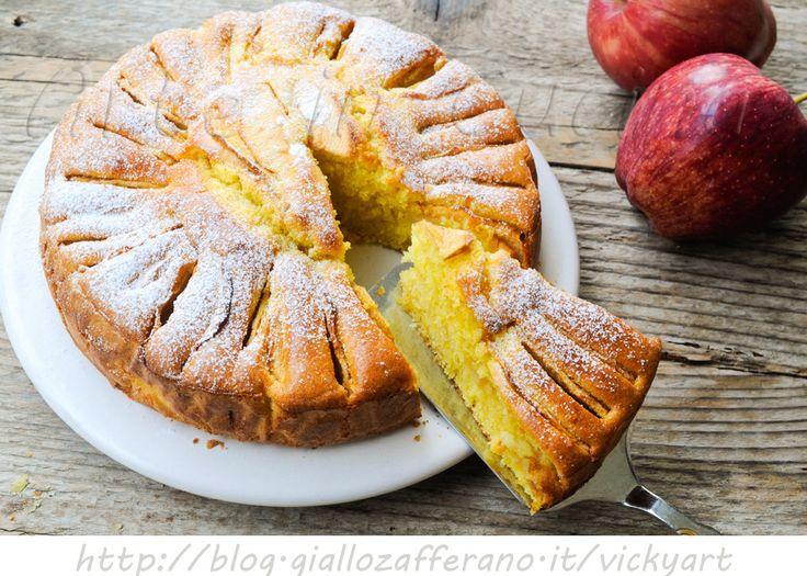 Torta di mele napoletana ricetta antica al marsala vickyart arte in cucina