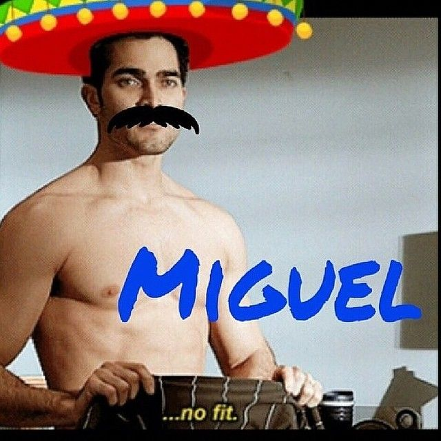 Teen Wolf cousin Miguel~  WHY