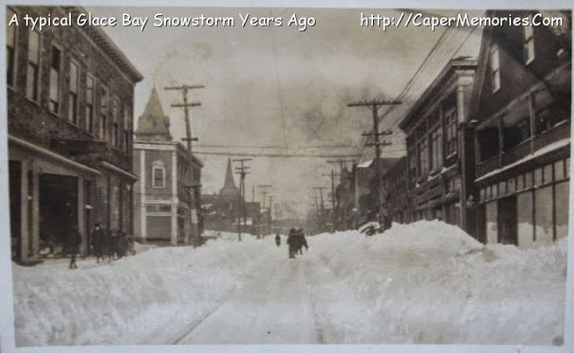Snowstorms of Cape Breton Past, Glace Bay, Sydney, Cape Breton | Photographs And Memories of Cape Breton