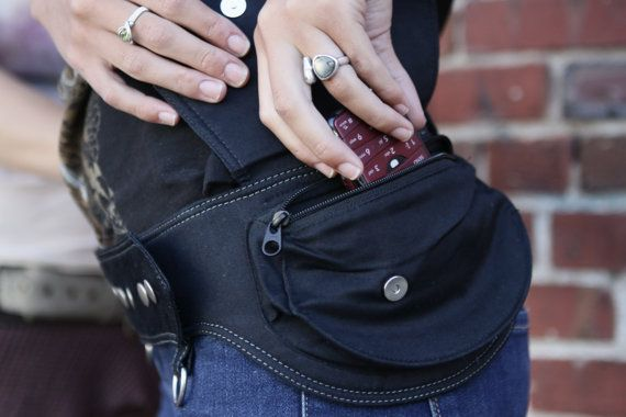 Hip Belt  Waist Pouch  Waist Pack by stashpack on Etsy, $115.00