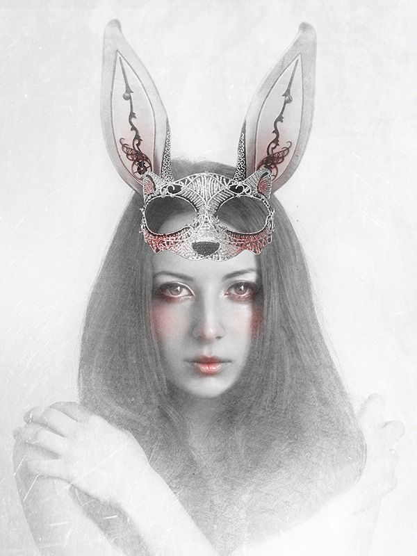 Stefania Santarcangelo, PRISON, 2013, digital manipulation