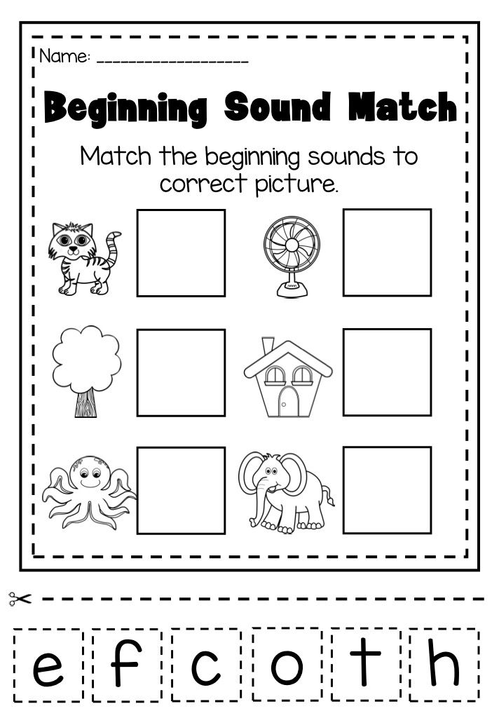 55 best Pre-School Beginning Sound Worksheets images on Pinterest - phonics worksheet