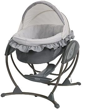 Bassinet + Bouncer + Swing! Graco Soothing Systems Glider - Finland