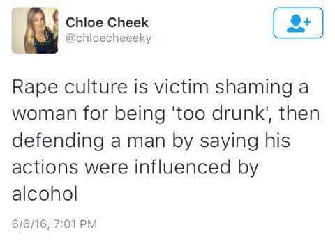 Women's drunkness condemns them; men's drunkness excuses them.