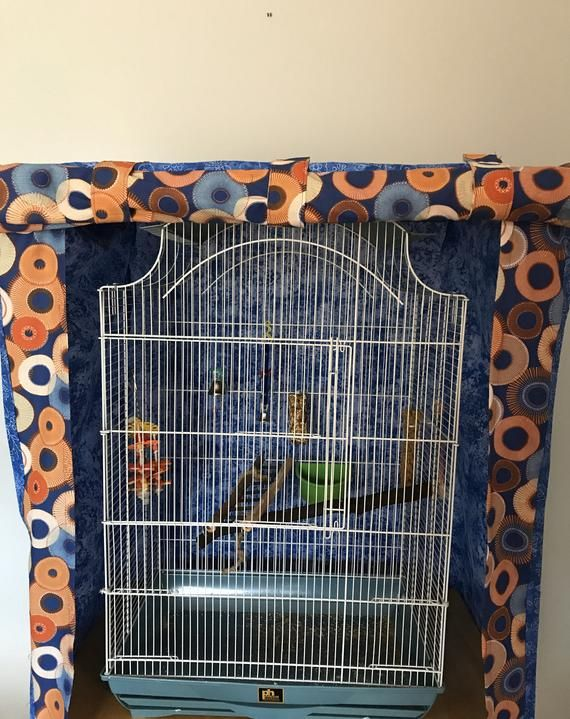 Bird Cage Cover Etsy In 2020 Bird Cage Covers Bird Cage Large Bird Cages