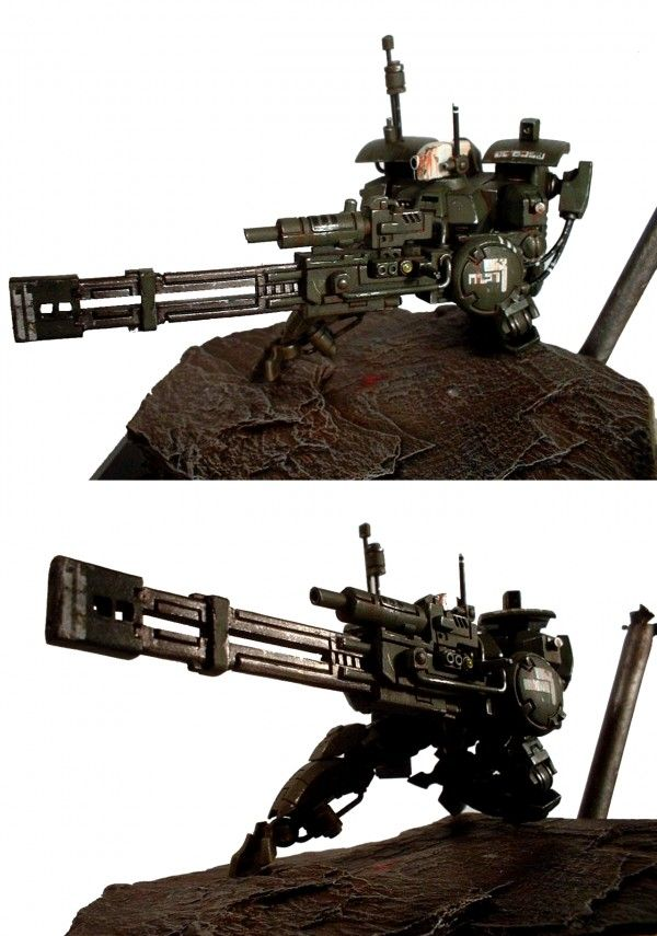 tau xv88 broadside battlesuit conversion (mecha) - repost -
