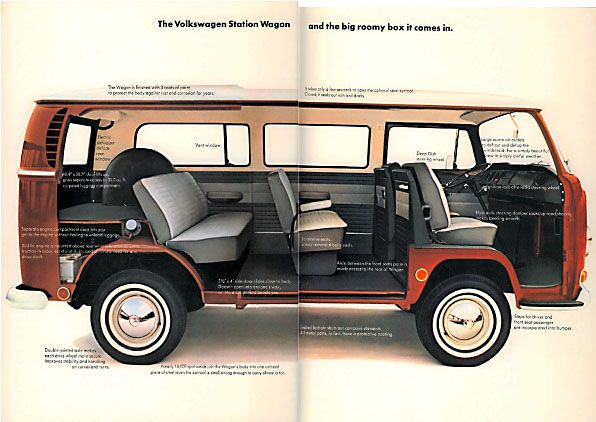 1970 VW BUS Brochure