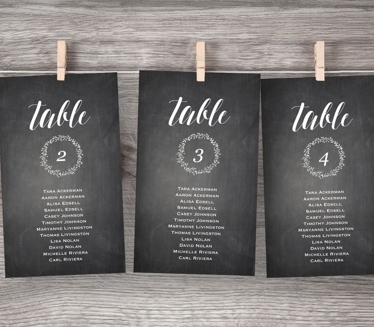 Chalkboard Wedding Seating Chart, Rustic Seating Plan, Table Card, Seating Cards, DIY Printable, Instant Download, Editable PDF Template by MintyPaperieShop on Etsy https://www.etsy.com/listing/271052138/chalkboard-wedding-seating-chart-rustic