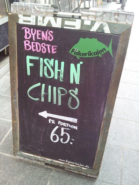 Toverhallerne Market #Copenhagen #Copenhague #Halles #Food #Market #Toverhallerne #FishNChips