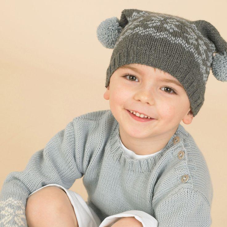 Toboggan-ready designs for boys - Sublime extra fine merino wool dk