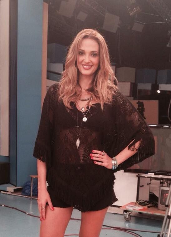 Lace blouse  by Eclectic Soiree @ Panos Kallitsis Salon