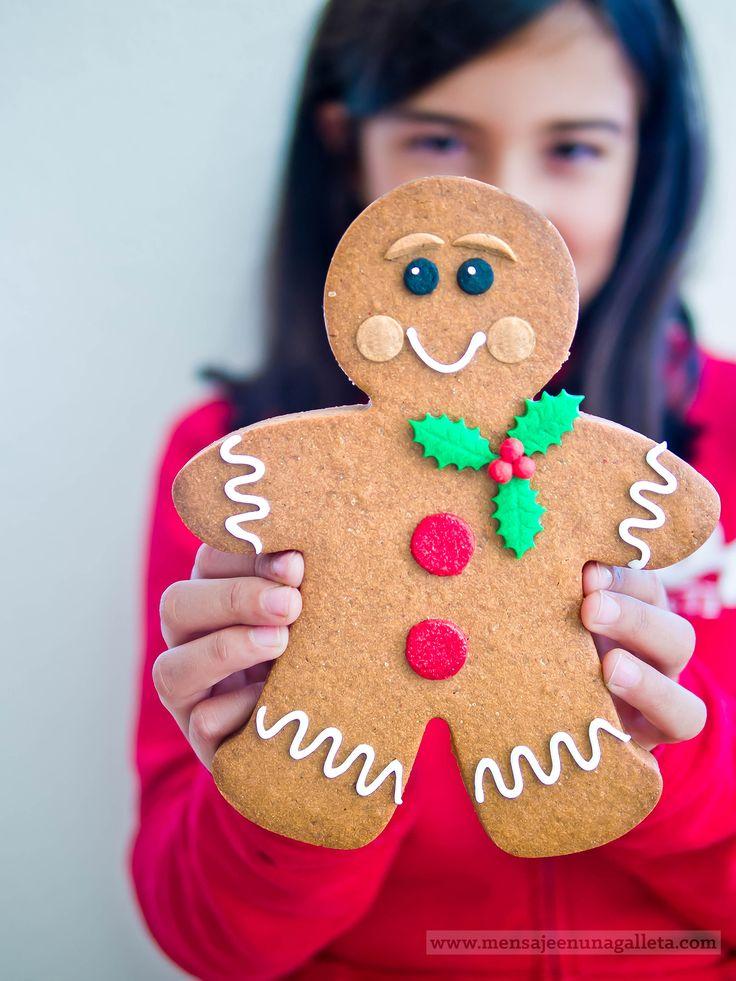 Galletas de jengibre para decorar, la receta definitiva. Gingerbread...
