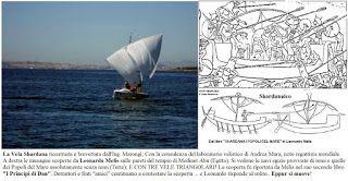 Shardana i Popoli del Mare (Leonardo Melis): VELA SHARDANA, VELA MODERNA