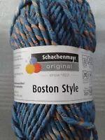 %Angebot% 50 gr (55,00€/kg) Schachenmayr Wolle BOSTON STYLE  Stricken Häkeln