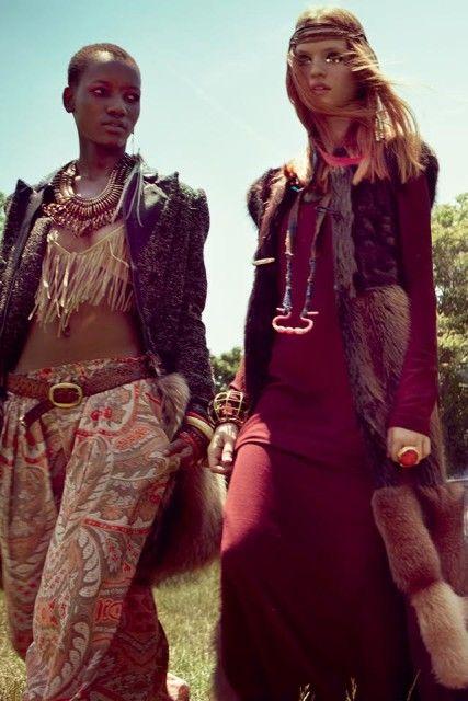 Coachella 2016: il beauty look, il trucco e i capelli da festival hippie gipsy