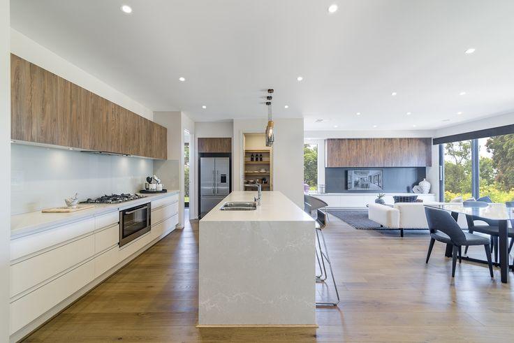 Heathcote 313 kitchen on display at Lyndarum Estate, Wollert.