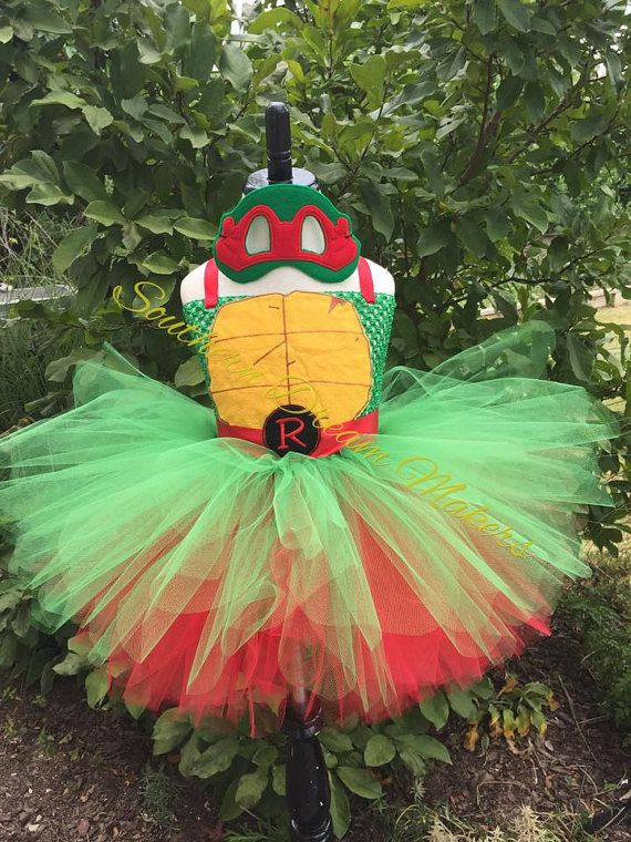 TMNT Tutu Teenage Mutant Ninja Turtles Tutu by SouthernDreamMakers