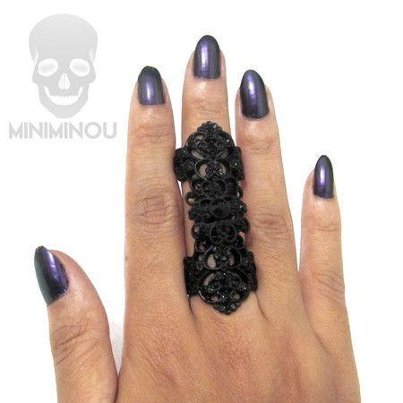 Anel articulado Dark Gothic