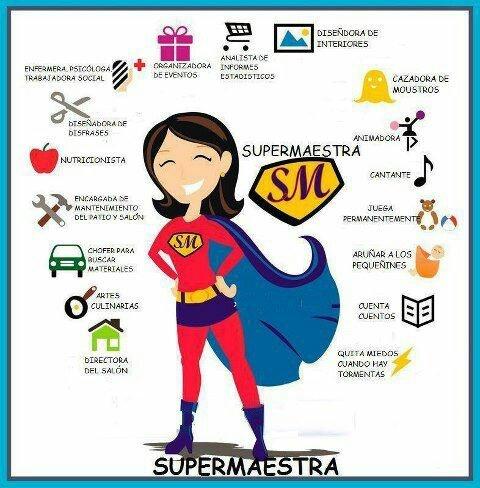 Algunas cualidades de las educadoras