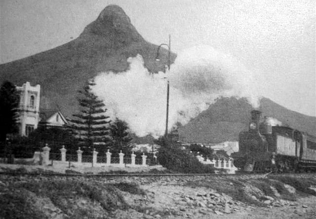 1915 Train passing 'Bordeaux', Sea Point, Cape Town | Flickr - Photo Sharing!