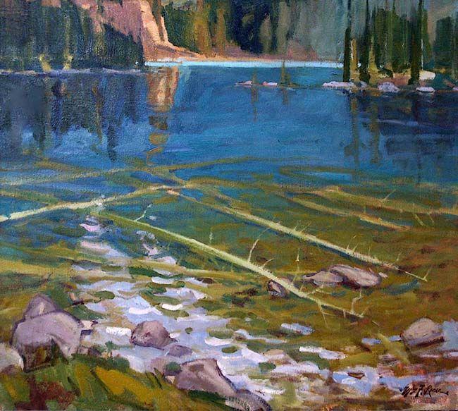 Oil Paintings By F Clarke Ocean