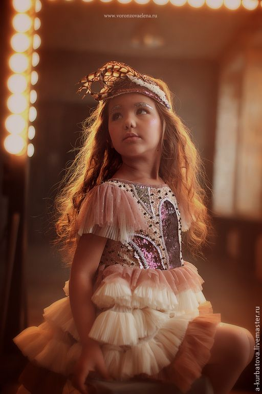 Детские танцевальные костюмы ручной работы. Платье для маленькой балерины.. Анастасия Курбатова (anastakurbatova). Ярмарка Мастеров. Карнавальный костюм, кружево