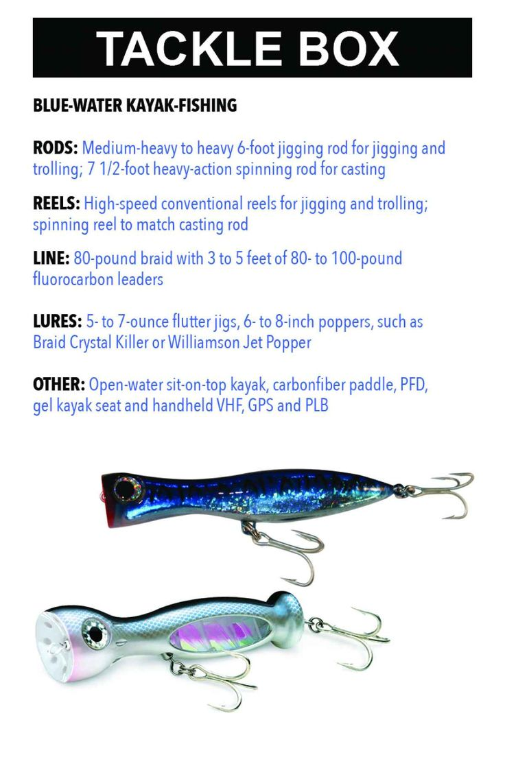 Freshwater fish nc - Find Out What Tackle You Need To Kayak Fish Offshore