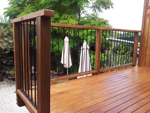 Timber & Steel Pool Fencing, Handrails, Balistrates | Custom Decks