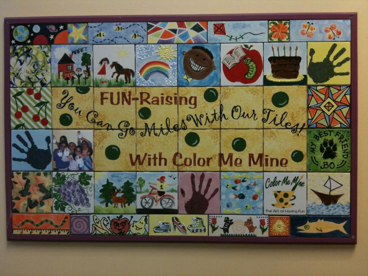 55 Best Fundraiser Tile Project Teacher Gift Images On