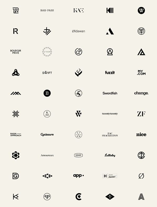Marques and Logotypes by Socio Design #logo