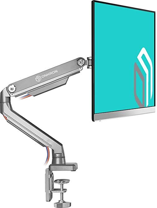 Sensational Onkron Desk Mount Full Motion Arm For Computer Monitors 23 Download Free Architecture Designs Intelgarnamadebymaigaardcom