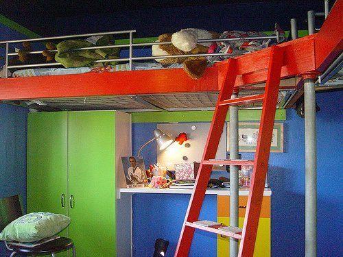 Look geekdad 39 s ikea hack ikea hacks hacks and ikea for Cool bunk beds for sale