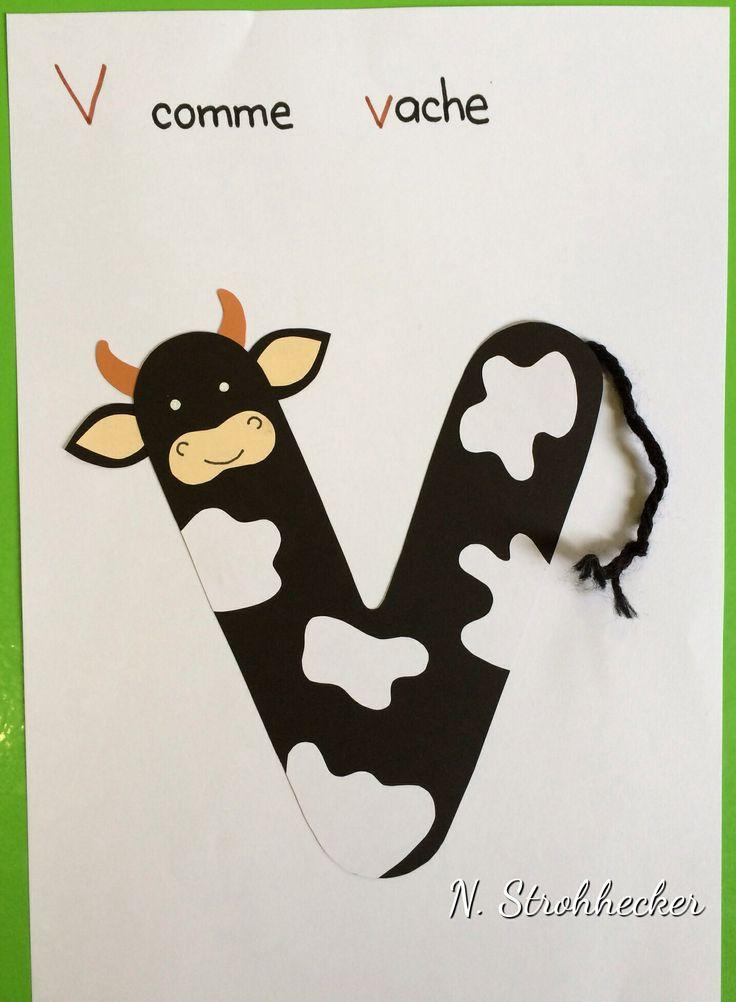 V comme vache